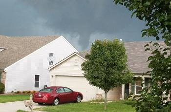 funnel cloud tornado
